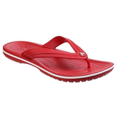 Crocs Crocband Flip Ladies Beach Pepper/White